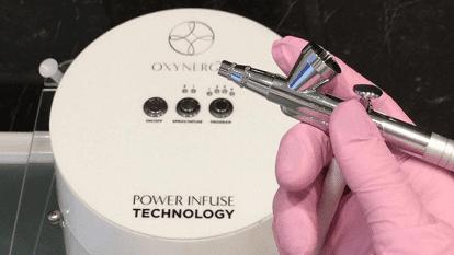 Deguonies terapija su POWER INFUSE TECHNOLOGY aparatu